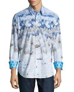 d34460dfd5 Limited Edition Penguin Long-Sleeve Sport Shirt