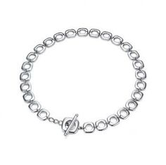 Designer Inspired Cushion Necklace W/ Toggle Closure