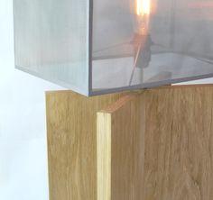 Lampe_bois massif - x-tool