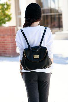 I want that bag! Marc by Marc Jacobs 'Classic Q - Mariska' Backpack