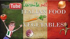 Italian food - Names of food in italian - Vegetables