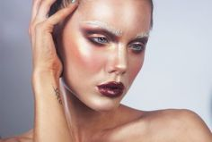 """Linda Hallaberg """"Halfway gone"""" makeup Makeup Geek, Makeup Tips, Hair Makeup, Linda Hallberg, Make Me Up, Makeup Brands, Nicki Minaj, Makeup Looks, Halloween Face Makeup"""