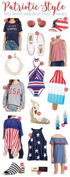 The prettiest pieces to rock this 4th of July (and all summer long!) at ALL different prices!