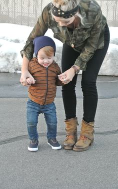 CARA LOREN- love her style and her little boy!!!