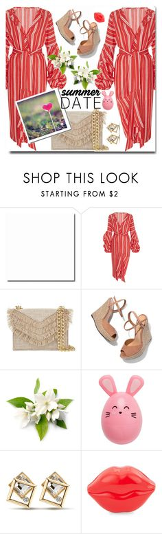 """Summer date"" by wuteringheights ❤ liked on Polyvore featuring Johanna Ortiz, Cynthia Rowley, Schutz and Tony Moly"