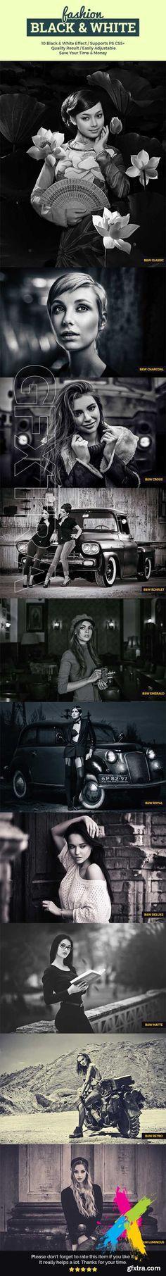 Graphicriver - Fashion Black & White 20165633