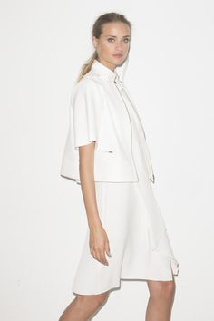 Wom & Now Spring Summer 2015 - Total white look: Wear it head to toe for the most modern approach