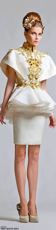 Krikor Jabotian Couture | the House of Beccaria#