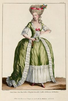1778 Fashion plate. Yes please.