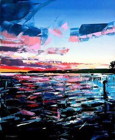 Ocean Pier Canvas Print 20*30 Inch HUGE !