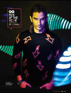 Sushant Singh Rajput → GQ October 2015