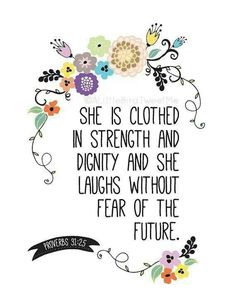 This defines our daughter, Emily Elizabeth.  I am so proud of the woman she has become, proud in a good way, not a boasting way.