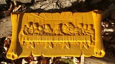Last Supper Wood Carving Jesus Christian Wall Art