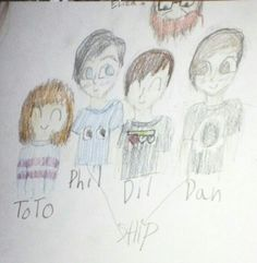 The howlter family by @Opie dearheart I love this pls ignore the derp faces and pls comment what you think