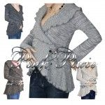 Maternity Cardigan Wrap Available in 4 colours!  Grogeous flattering maternity cardigan warp great for keeping warm and covered this winter.  A lovely soft material which wraps around your bump and fastens at the side with a scottish style embellished pin.  Stylish and modern wrap which can be worn during and after pregnancy!