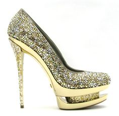 Diamond shoes? yes plz!