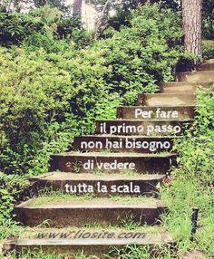 Per fare il primo passo ...