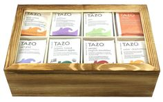 Gift Universe 112 Pieces Tazo Tea Sampler with 8 Section Tea Storage Box * Check out the image by visiting the link. (This is an affiliate link) #TeaSamplers