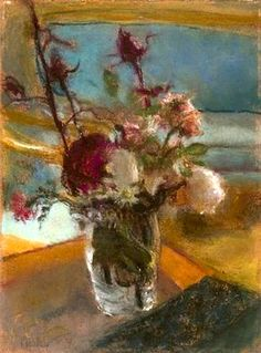 Edouard Vuillard - Flowers (by BoFransson)