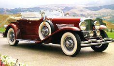 1929 Duesenberg Model J Dual-Cowl Phaeton - (Duesenberg Automobile & Motors Company, Inc. Retro Cars, Vintage Cars, Antique Cars, Duesenberg Car, Convertible, 67 Ford Mustang, Bmw I3, Classy Cars, Cabriolet