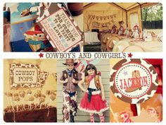 Rootin' Tootin' Cowboy Western Birthday Party! - Kara's Party Ideas - The Place for All Things Party