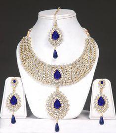 Indian Kundan jewellery set