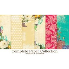 Paper Collection - Seaside Retreat