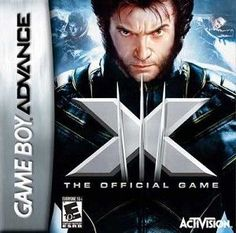 X-Men 3 The Official Game- Game Boy Advance Game