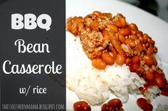 That Southern Mama: BBQ Bean Casserole / Recipe