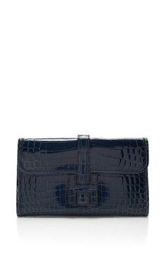 hermes knockoff handbags - Shiny Mykonos Porosus Crocodile Hermes Kelly Cut Clutch by ...