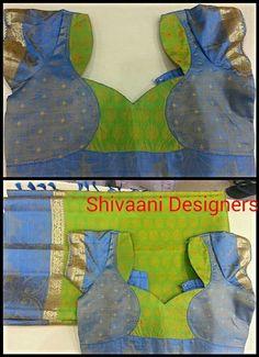 Blouse Neck Patterns, Saree Blouse Neck Designs, Designer Blouse Patterns, Patch Work Blouse Designs, Simple Blouse Designs, Sleeve Designs, Couture, Fashion, Scrappy Quilts