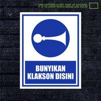 WSKPC094 Sticker K3 Safety Sign Warning Sign Bunyi