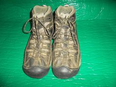 Keen Targhee II Mid Men's Boots Size 12 Brown  Trail Hiking Shoes USED #Keen #AnkleBoots