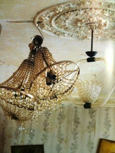 chandelier and lightening