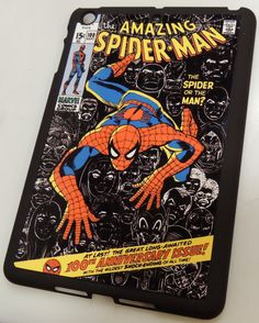iPad Mini or Kindle Fire Vintage Spiderman Comic by HanddMadeForU, $21.00