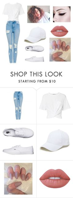 """""""Am I Still Not Good Enough? Am I Still Not Worth That Much. I'm Sorry For The Way My Life Turned Out. I'm Sorry For The Smile I'm Wearing Now. Guess I'm Still Not Good Enough."""" by crazy-for-1d-5sos ❤ liked on Polyvore featuring T By Alexander Wang, Vans, Sole Society and Lime Crime"""