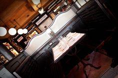 Intérieur / Détails Box - Le Valois #Paris #bar #huitres #75008 #restaurant #bar #brasserie #interieur #decoration #lafondad