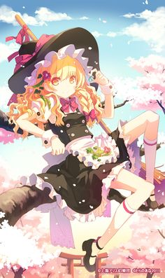 Cute witch by H2SO4