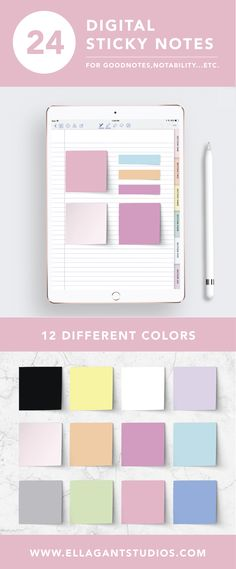 I absolutely love adding these to my digital planner. I use them with the good notes app and  my iPad pro. Super cute!! :)