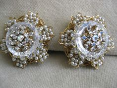 Stanley Hagler Earrings US $89.95 in Jewelry & Watches, Vintage & Antique Jewelry, Costume
