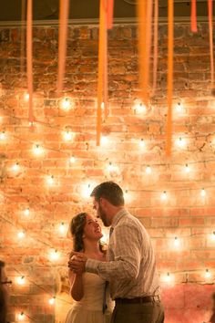 lighting lighting lighting!! Abby Rose Photo | On SMP: http://www.StyleMePretty.com/2012/07/09/ann-arbor-wedding-at-zingermans-events-on-4th-by-abby-rose-photo/