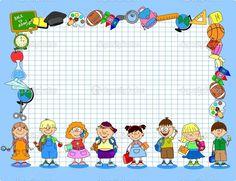 marcos infantiles educativos png - Buscar con Google