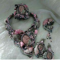 Shibori, Crochet Necklace, Jewelry, Fashion, Moda, Jewlery, Crochet Collar, Bijoux, La Mode