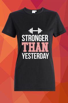 Stronger than yesterday T-shirt  https://www.spreadshirt.com/stronger-than-yesterday-A105045267