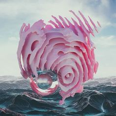 #wave #cinema #4d #c4d #cinema4d #octane #render #octanerender #photoshop #daily #3d #gfx #graphics #graphic #design #abstract #art #surreal #landscape #blob #pink #sphere #geometry #organic #realistic #mist #rsa_graphics by hoodass