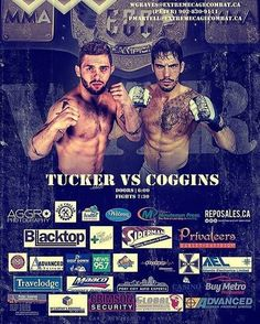HALIFAX FORUM. SATURDAY. from @extremecagecombat  This Saturday at ECC 25 - Halifax Forum July 23rd  The main event is top ranked Gavin Tucker from Halifax agains Chris Coggins from Tennessee. Tucker is an undefeated professional MMA fighter originally from Ship Cove Nfld who now makes Halifax his home. With most of his fights resulting in 1st round ko's don't blink when Tucker fights. Coggins is a fast rising star in the U.S who sees Tucker as easy prey. Tucker and the experts disagree…