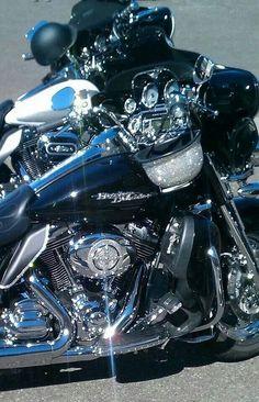 Blinged bike and helmet