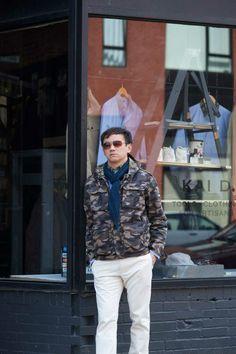 #kaidutility #jacketarchives #camouflagejacket