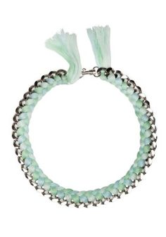 Mint Bff Necklace by Saben