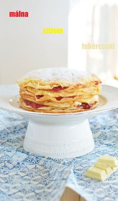 csúsztatott palacsinta Waffles, Pancakes, Sweet Bread, Sweets, Breakfast, Ethnic Recipes, Breads, Foods, Morning Coffee